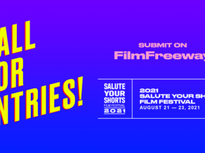 Save the Date for the 2021 Salute Your Shorts Film Festival!