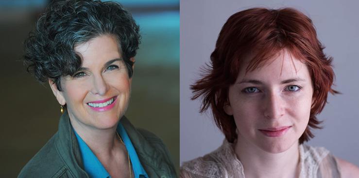 Rachel Feldman (left) and Laura Moss (right)