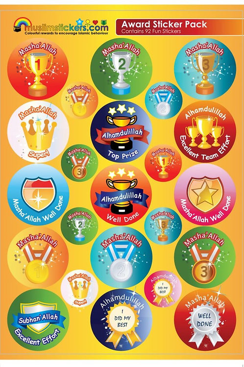 Award Sticker Pack