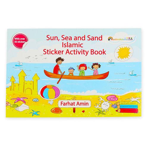 Sun Sea & Sand Islamic Sticker Activity Book