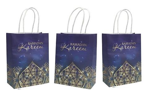 3x Ramadan Kareen Paper Gift Bags