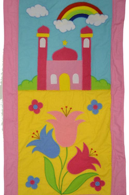 My little prayer mat rose