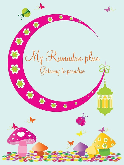 My Ramadan planner for children (girl version)