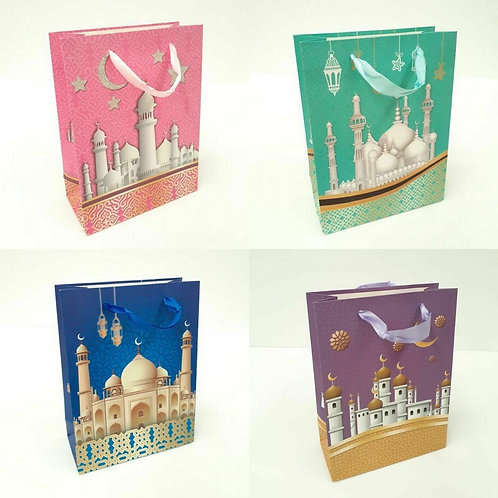 Gift Bag Mosque Design Small