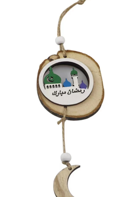 1x Ramadan Eid MubarakPlaque Hanging