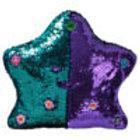 Flippable Sequins My Dua' Pillow – Purple & Turquoise