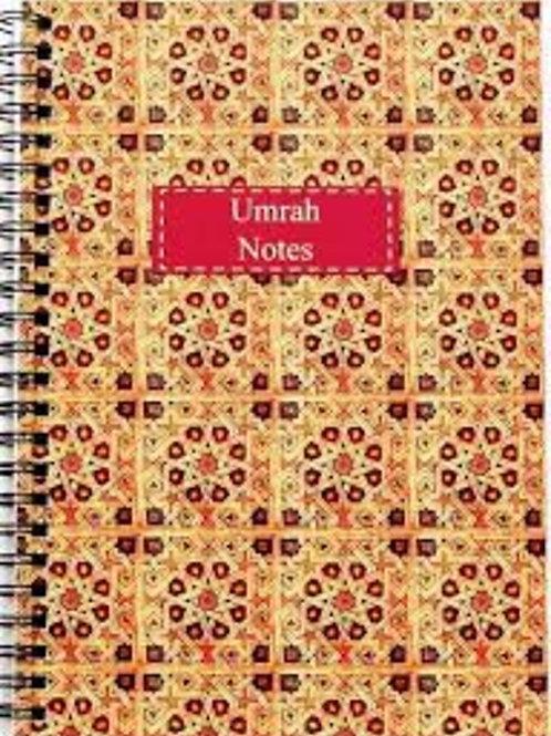A5 Umrah Notebook