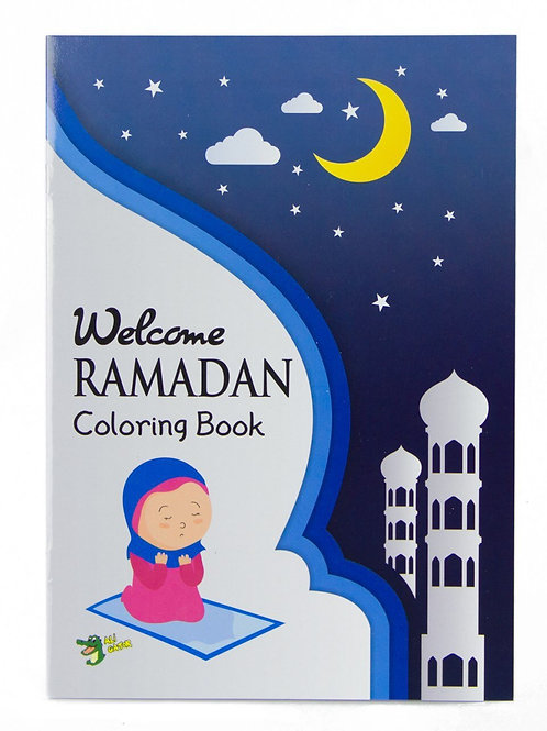 Welcome Ramadan (Colouring Book)