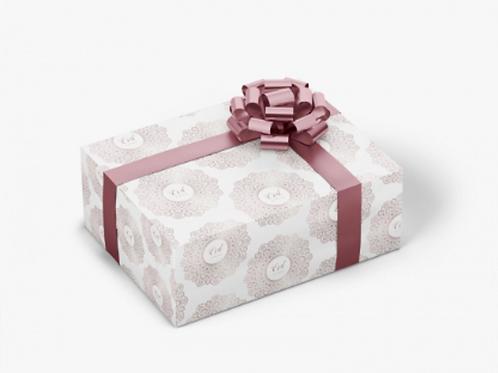 Wrapping paper Desert Flower