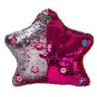 Flippable Sequins My Dua' Pillow – Pink & Silver