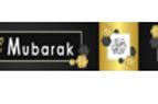 Eid Mubarak Black &Gold Banner