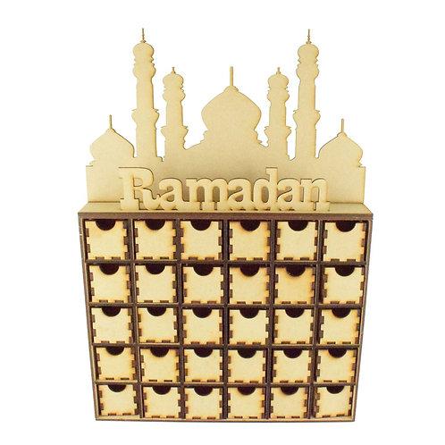 Ramadan Calendar Drawers-30 Drawers-Eid Countdown
