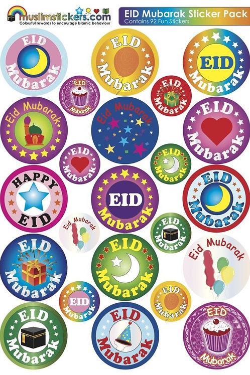 EID STICKERS (Eid Mubarak)1