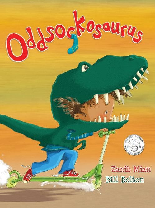 Oddsockosaurus - as seen on Cbeebies