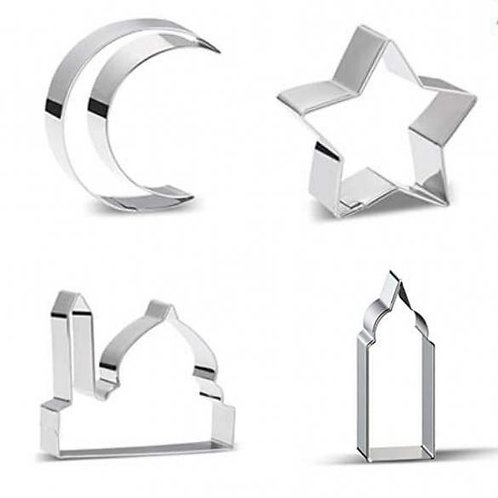 Cookie Cutters - Crescent Moon Mosque