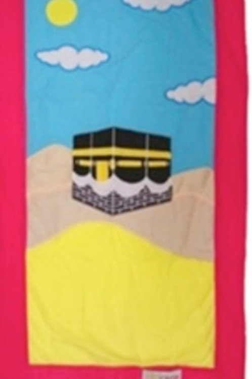 My Little Prayer Mat Kabah (Pink)