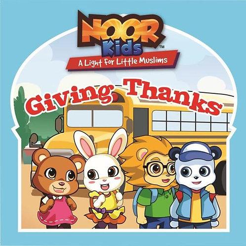 Noor Kids Give Thanks