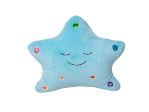 The Original My Dua' Pillow with Light & Sound – Blue