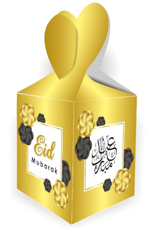 Eid Mubarak Gift Boxes (Gold)