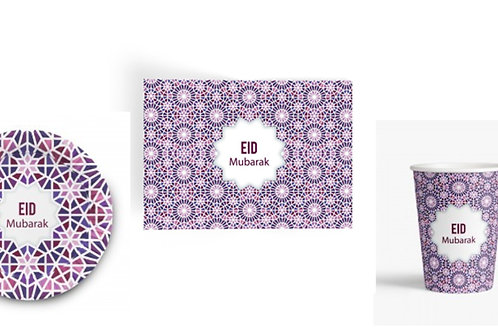 Eid Cups Mosaic-Set