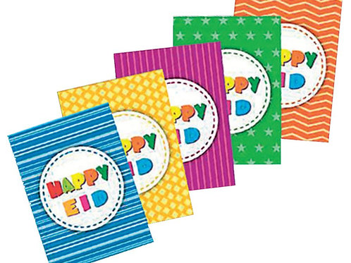 Happy Eid Cards  (10 Pack)
