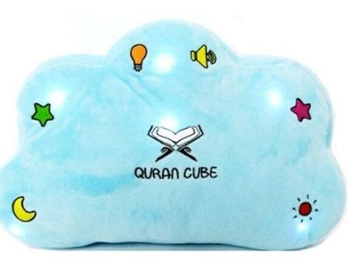 Quran Cube Pillow- Blue