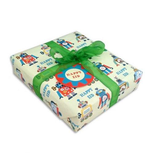 Robots gift wrap