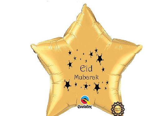 Eid Mubarak  Gold foil balloon