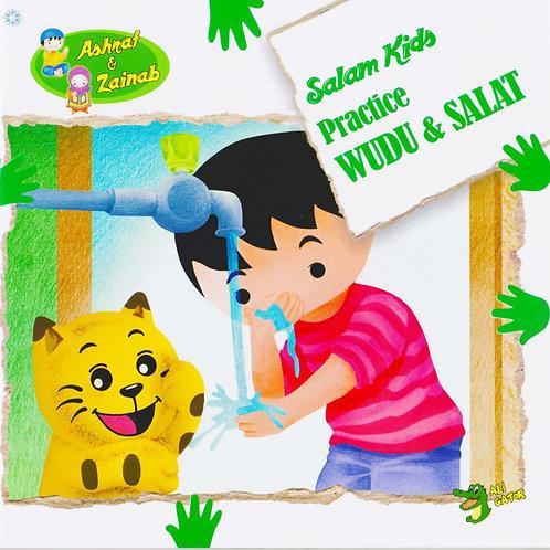 Practice Wudu & Salat- Salam Kids