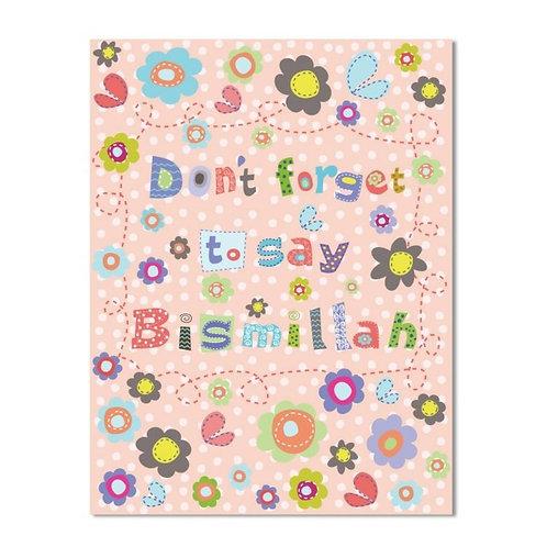 Pink Bismillah Excrcise Notebook