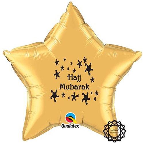 Hajj Mubarak Foil Balloon