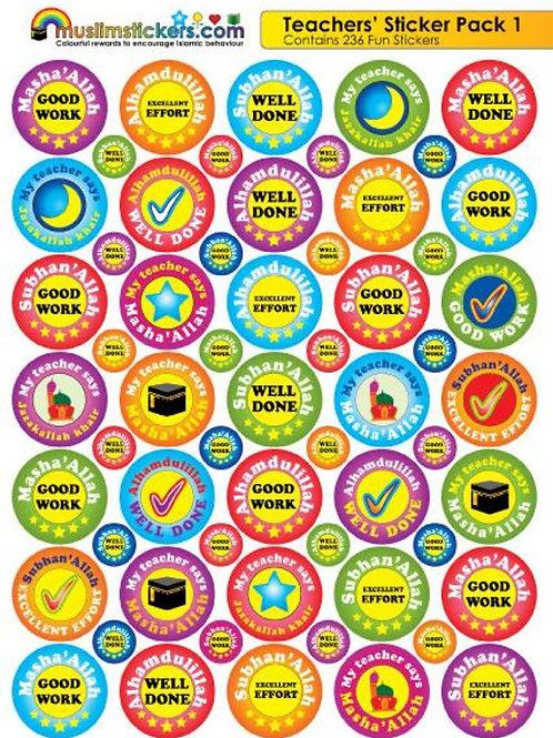 Teachers Sticker Pack 1