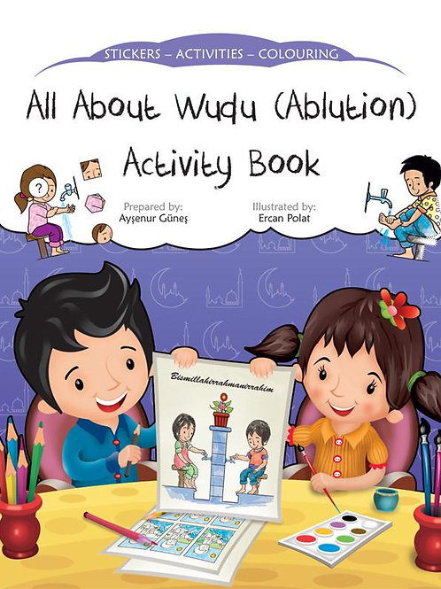 All About Wudu- (Ablution ) Activity Book