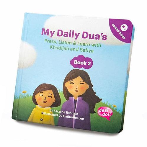 My Daily Dua's Story Sound Book 2