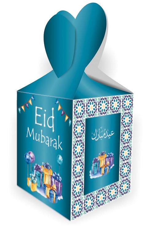 Eid Mubarak Gift Boxes Boxes (Turquoise/Mosaic)