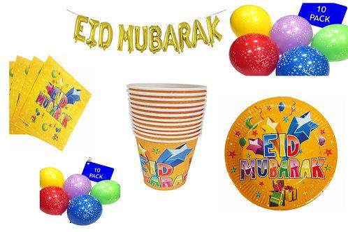 Eid Mubarak Party Decorations