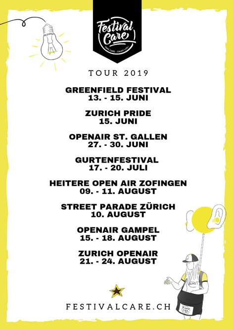 Ready für den Festival-Sommer 2019!