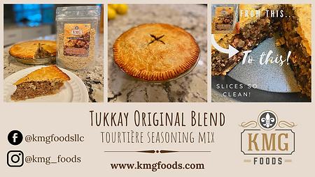 Tukkay Original Blend, tourtiere seasoni
