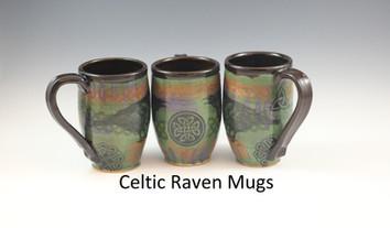Celtic Raven Modern Mug