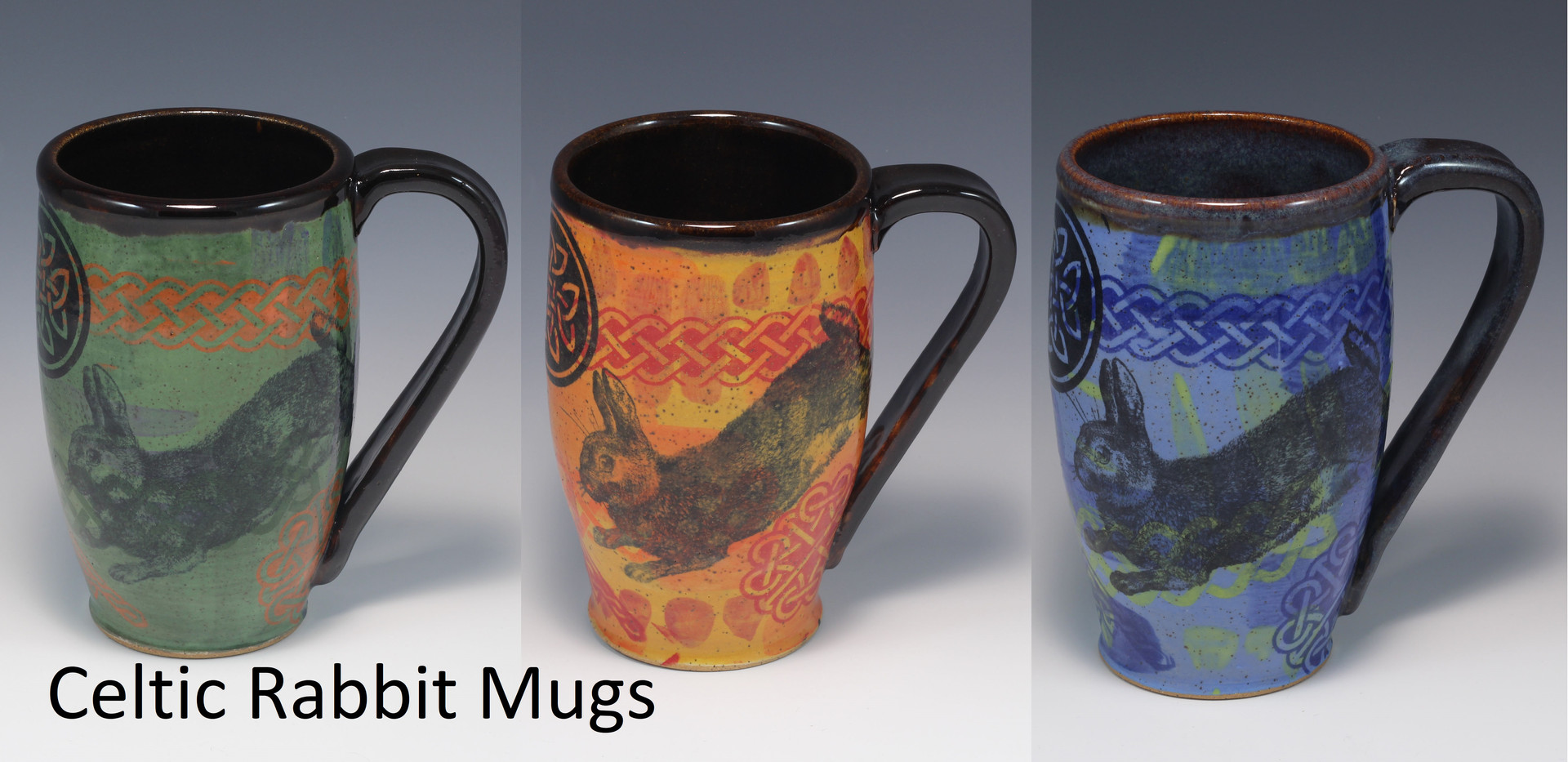 Celtic Rabbit Modern Mug