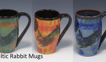 Celtic Rabbit Modern Mug