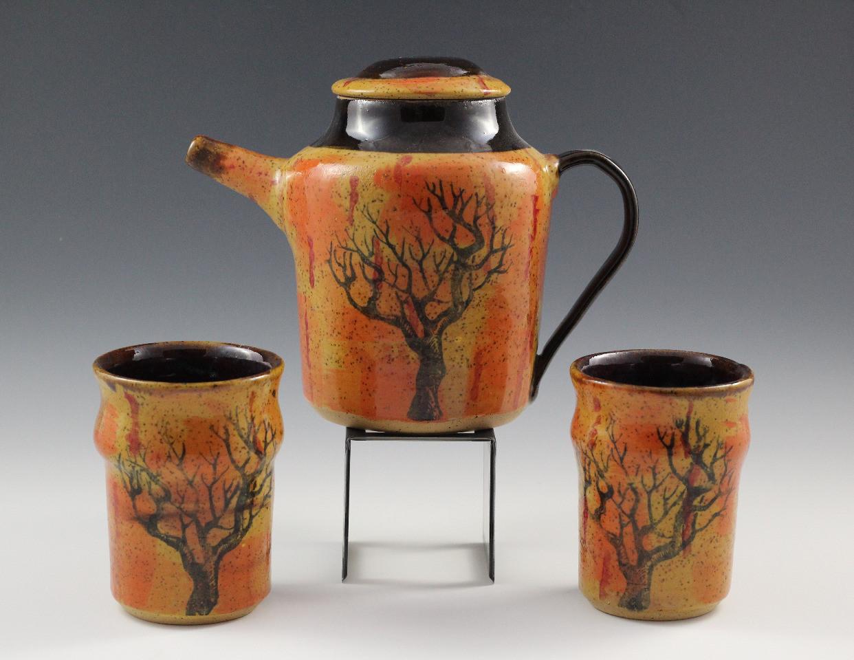 Deadwood Tea Pot Set