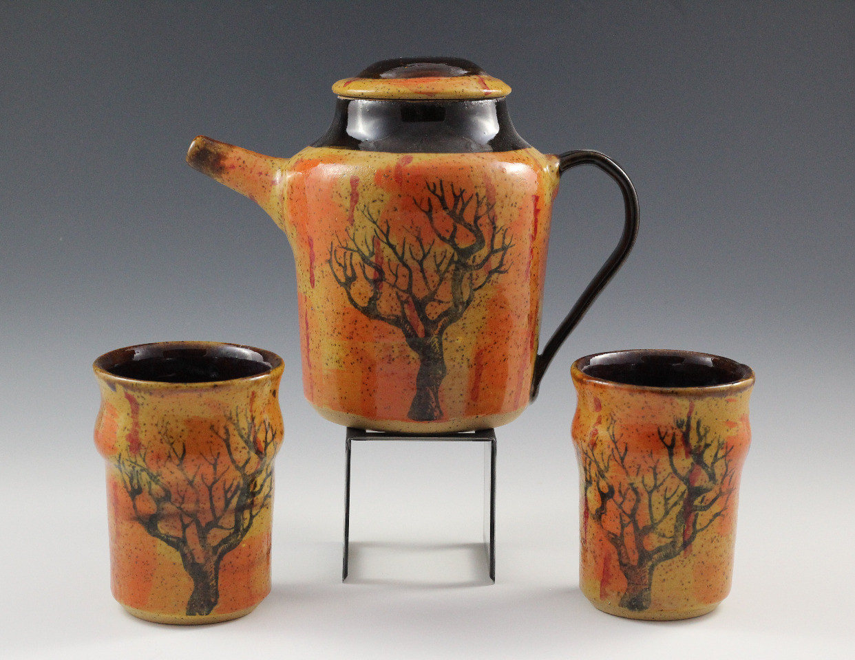 Deadwood Tea Pot Set