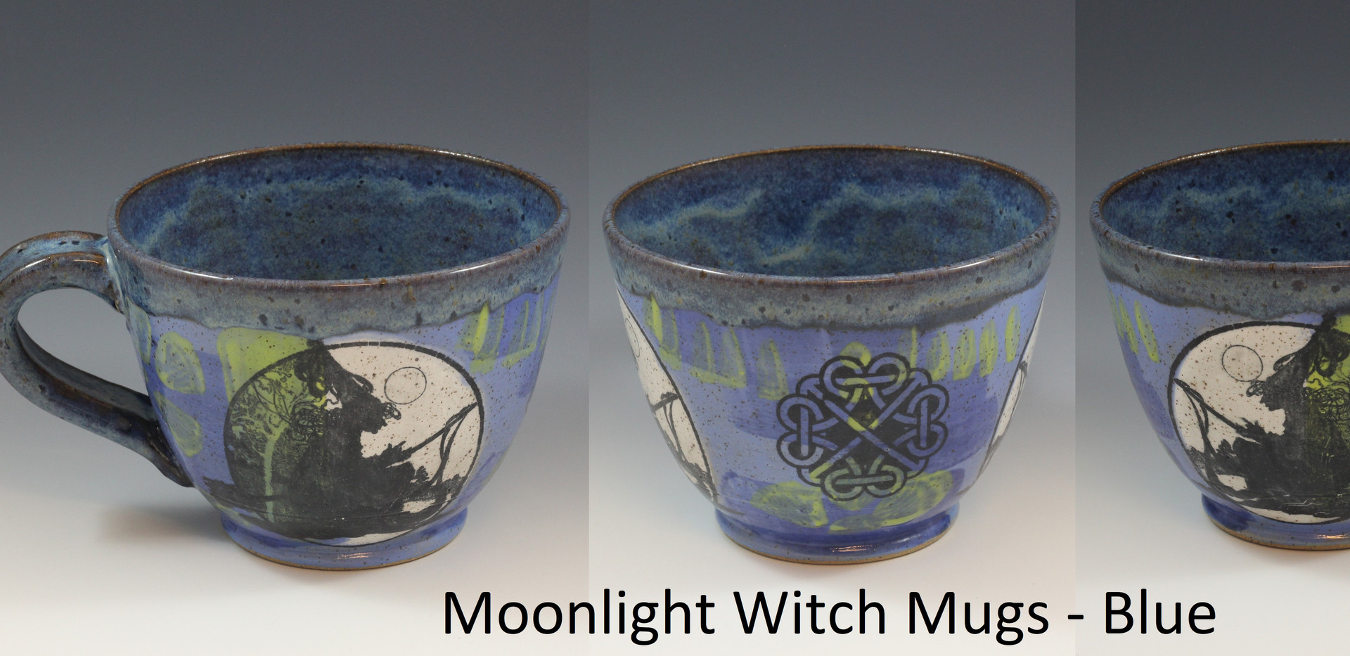 Moonlight Witch Soup Mug - Blue