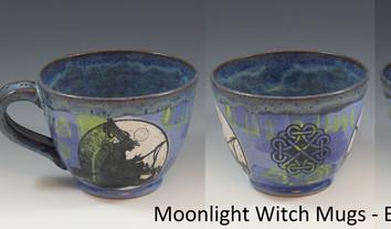 Moonlight Witch Soup Mug - Blue