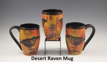 Desert Raven Modern Mug