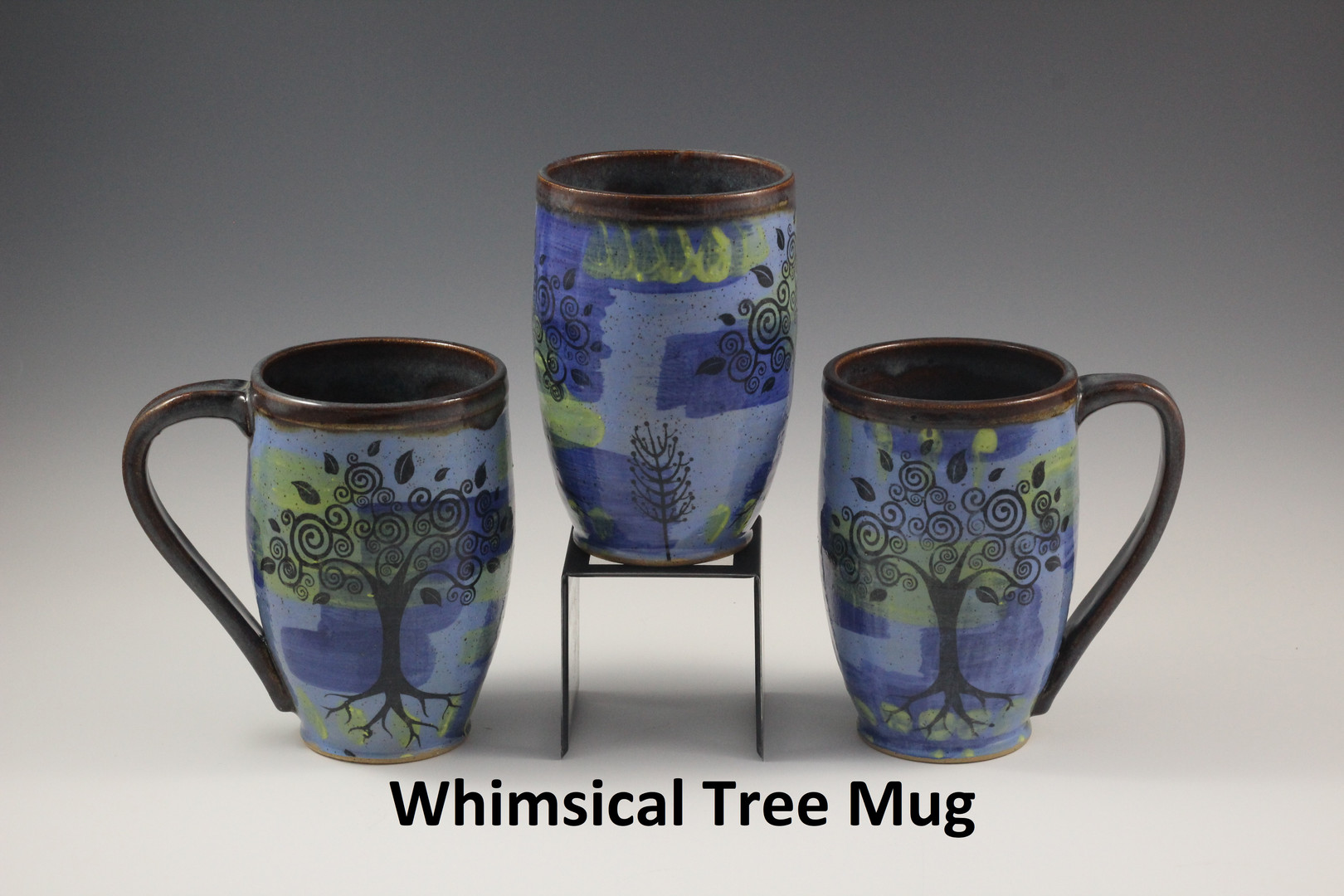 Whimsical Tree Mugs