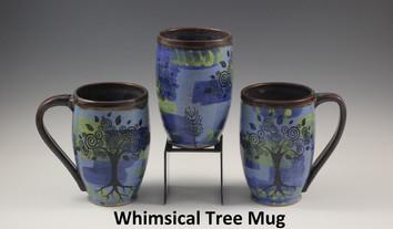 Whimsical Tree Modern Mug