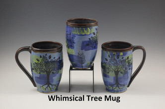 Whimsical Tree Mugs
