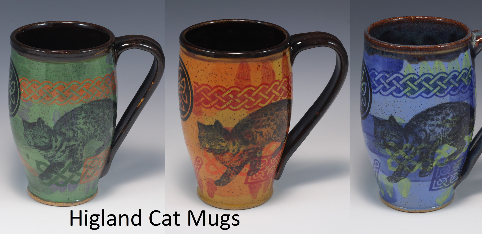 Highland Cat Modern Mug